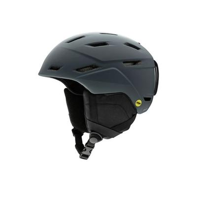 """Smith Helmets Mission Mips Snow Helmet - Men's Matte Charcoal Large Model: H19-MSMCLGMIPS"""