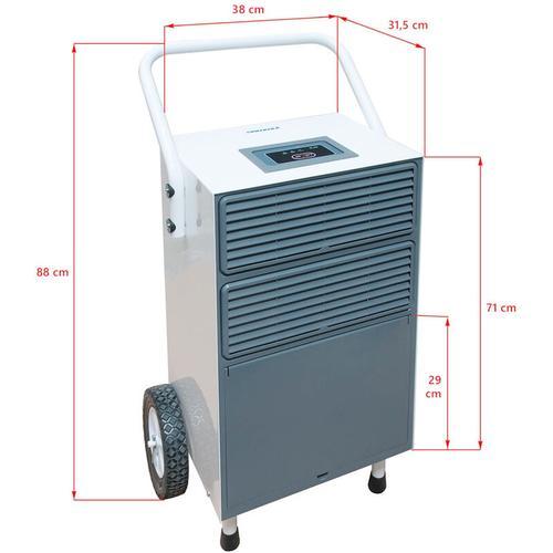 Nemaxx BT55X Bautrockner Kondenstrockner Luftentfeuchter Raumentfeuchter Entfeuchter Trockner (max.