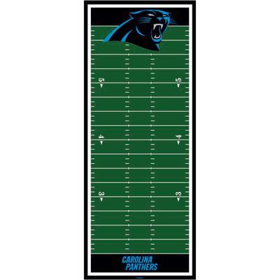 Carolina Panthers Fathead Football Field Large Removable Growth Chart