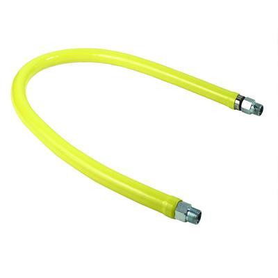T&S HG-2D-48 48″ Gas Connector Hose w/ 3/4″ Male/Male Couplings