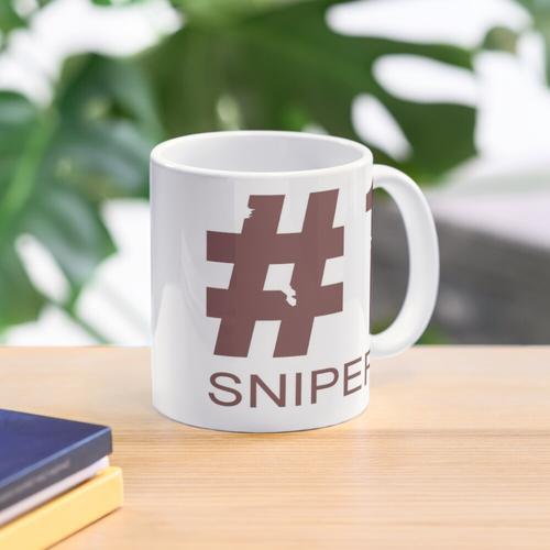 TF2 #1 Sniper Red Mug