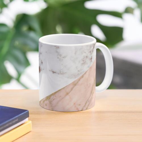 Rose gold marble blended Mug