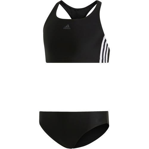 adidas 3-STRIPES Bikini Set Mädchen in black, Größe 140
