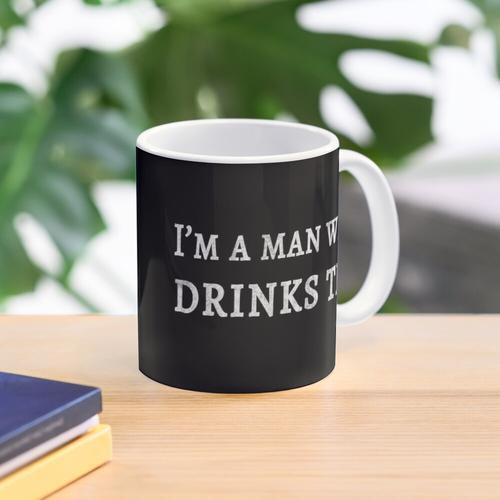 I'm a Man Who Drinks Tea Mug