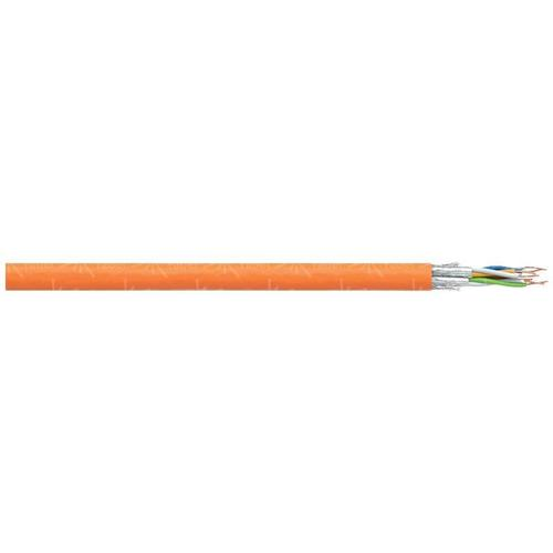 101043 Netzwerkkabel CAT 7 S/FTP 4 x 2 x 0.25mm² Orange 200m A040051 - Faber Kabel