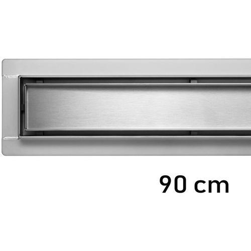 Fala - Duschrinne Bodenablauf Modell Madeira Edelstahl Siphon Ablaufrinne 90 cm