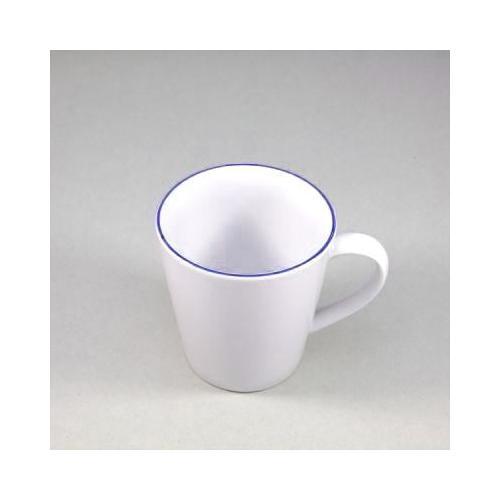 Retsch Arzberg Becher Heike Blaurand, (6 tlg.), 6-teilig weiß Tassen Geschirr, Porzellan Tischaccessoires Haushaltswaren