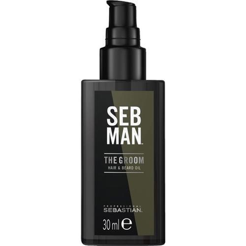 Sebastian Seb Man The Groom Hair & Beard Oil30 ml Bartöl