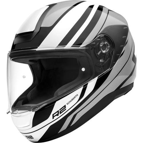 Schuberth R2 Enforcer Helm, grau-weiss, Größe XS