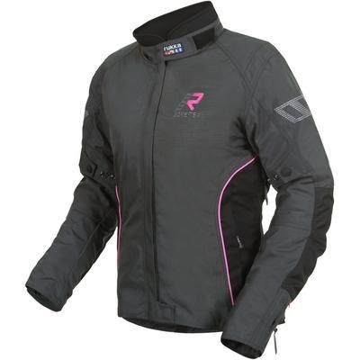 Rukka Hermia Gore-Tex Damen Motorrad Textiljacke, grau-pink, Größe 38