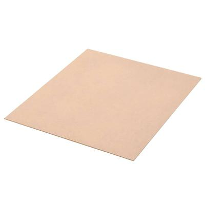 vidaXL Plaque de MDF 20 pcs Carré 60 x 60 cm 2,5 mm