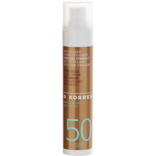 Korres Red Grape Sunscreen Face Cream SPF 50 50 ml Sonnencreme