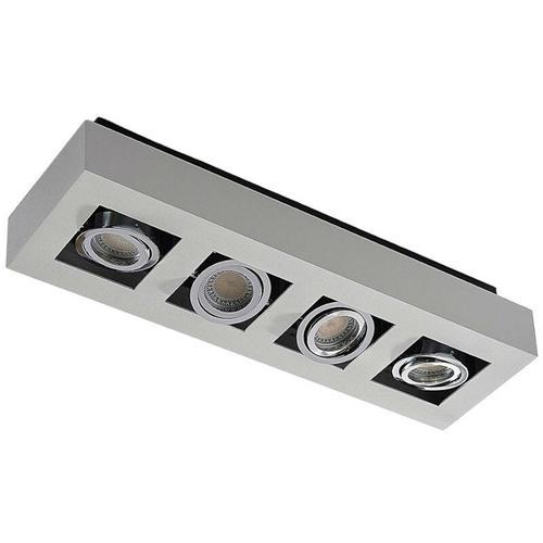 Arcchio - Längliche LED-Deckenleuchte Vince in Weiß, 4-fl.