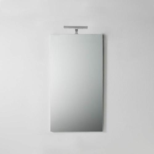 Einfacher Badezimmerspiegel Mit Licht 45 Cm X 90 Cm