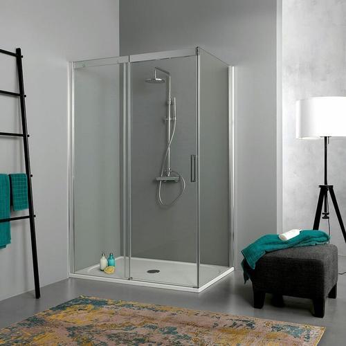 Duschkabine 150 × 80 Mit Schiebetür