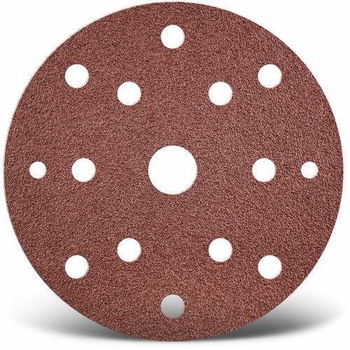 25 MENZER Klett-Schleifscheiben f. Exzenterschleifer, Ø 150 mm / 15-Loch / K24 / Normalkorund