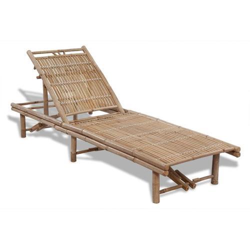 Vidaxl - Sonnenliege Bambus