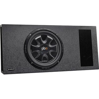 "PowerBass PS-AWB121T Single 12"" Thin Loaded Enclosure Powered"