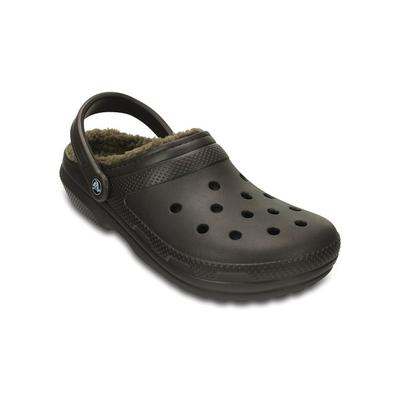 Crocs Espresso / Walnut Classic Lined Clog Shoes