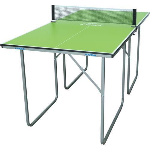Joola Mini-Tischtennisplatte Midsize, (2 tlg.), Das Netz ist im Lieferumfang enthalten grün Ab 9-11 Jahren Altersempfehlung