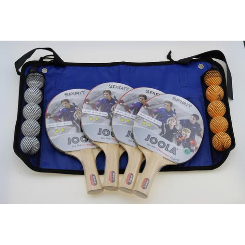 Joola Tischtennisschläger Family Set, (Set) beige Tischtennis-Ausrüstung Tischtennis Sportarten
