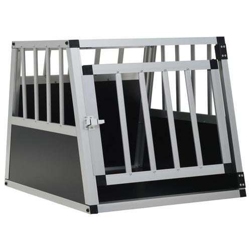vidaXL Hundetransportbox mit Einzeltür 54 x 69 x 50 cm