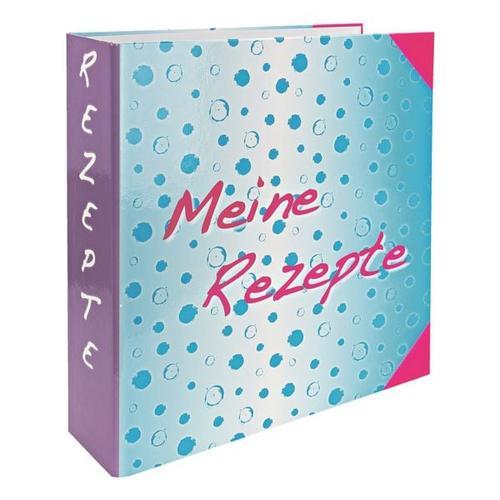 Motivordner mit Register »Meine Rezepte« türkis, OTTO Office, 31.5x60.7 cm