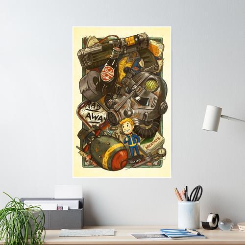 Wasteland Cache Poster