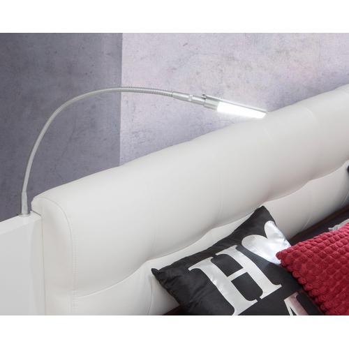 FORTE LED Leselampe, 2er Set weiß Leselampe Zubehör für Betten