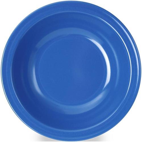 WACA Suppenteller, (Set, 4 St.), Melamin blau Teller Geschirr, Porzellan Tischaccessoires Haushaltswaren Suppenteller