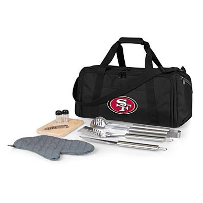 NFL San Francisco 49ers BBQ Kit/Cooler Tote with Barbecue and Picnic Accessories