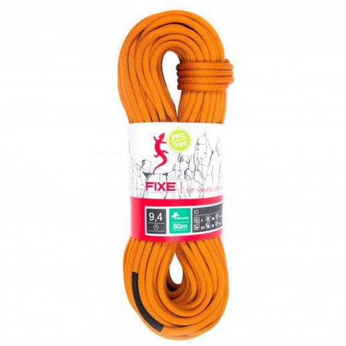 Fixe - Einfachseil IO Nature 9,4 mm - Einfachseil Länge 80 m orange