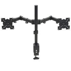 "vidaXL Monitor-Tischhalterung 32"" Doppelarm Höhenverstellbar"