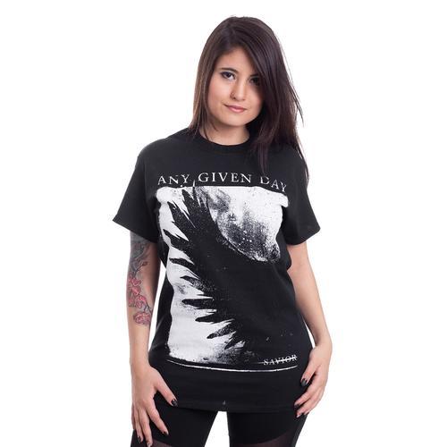 Any Given Day - Savior - - T-Shirts