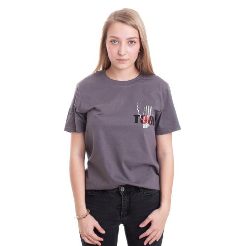 Tool - Spectre Burst Skeleton Charcoal - - T-Shirts