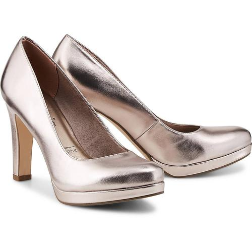 Tamaris, Fashion-Pumps in bronze, Pumps für Damen Gr. 41
