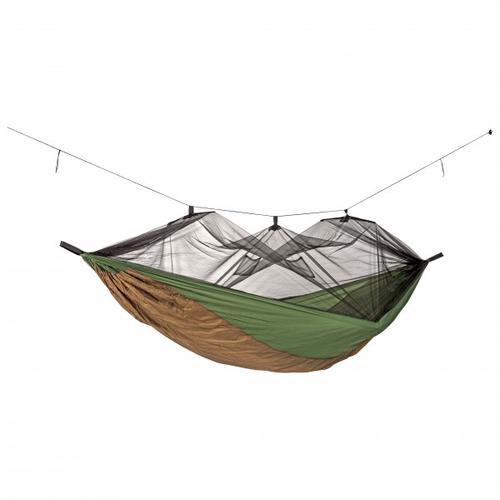 Amazonas - Hängematte Moskito-Aventure Thermo - Hängematte Gr 2,75 x 1,4 m grau/oliv/braun