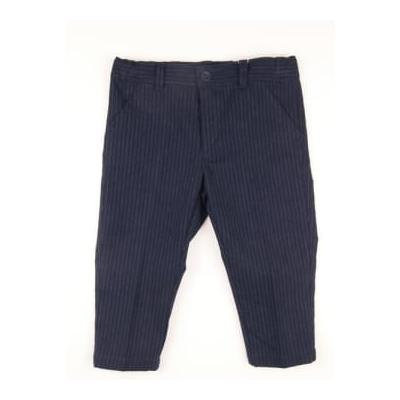 Baby Graziella - Trousers - 7 Years / Navy Stripes - Blue