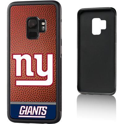 New York Giants Galaxy Bump Case with Football Design
