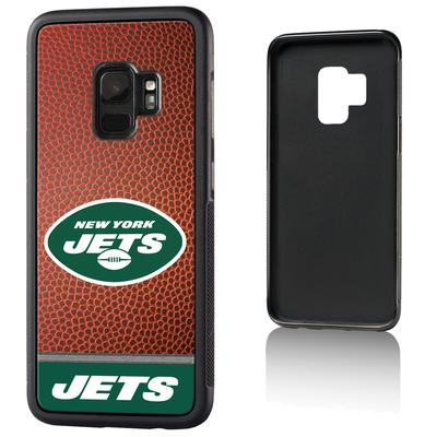 New York Jets Galaxy Bump Case with Football Design