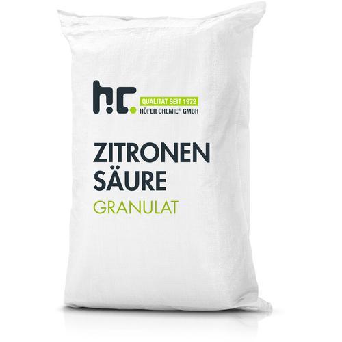 4 x 25 kg Zitronensäure Granulat