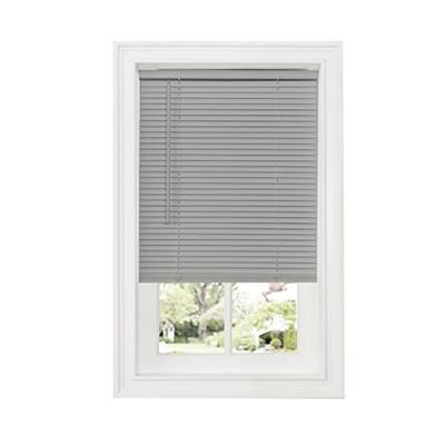 "Achim Home Furnishings DSG235GY06 Cordless GII Deluxe Sundown 1"" Room Darkening Mini Blind, Grey, 35"