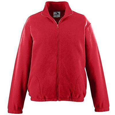 Augusta Sportswear Men's CHILL Fleece Full Zip Jacket XL Red