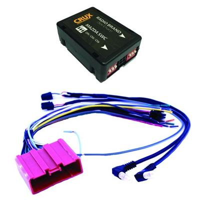 CRUX SWRMZ-64C Radio Replacement Interface (for select Mazda vehicles)