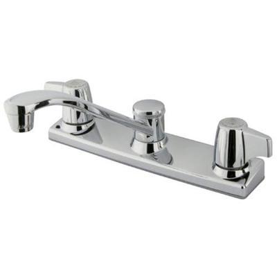 Kingston Brass KB120 8-Inch Centerset Kitchen Faucet Polished Chrome