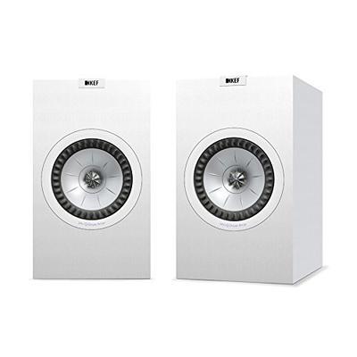 KEF Q350 Bookshelf Speakers (Pair, White) (Q350WH)