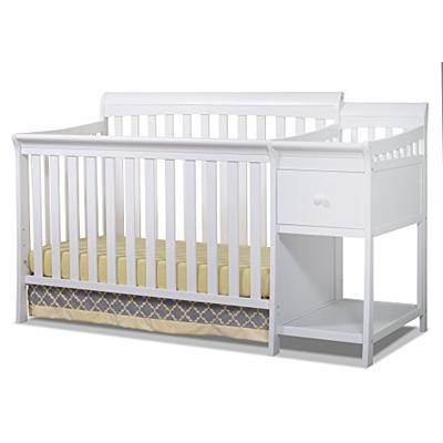 Sorelle Florence Crib and Changer, White