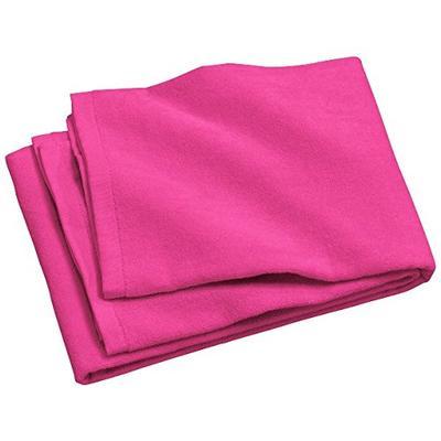 Port & Company bath Beach Towel OSFA Tropical Pink