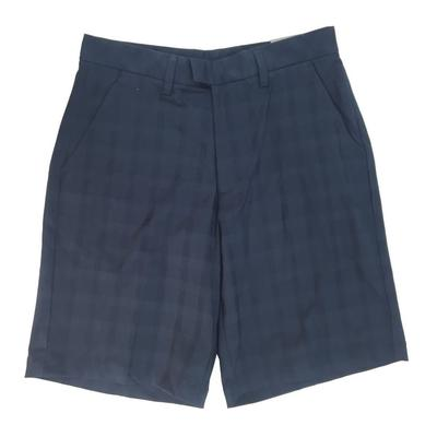 Ashworth Golf Mens Check Golf Shorts - Black 32