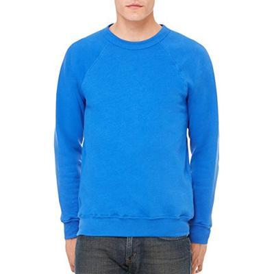 Bella 3901 Unisex Sponge Fleece Crew Neck Sweatshirt - True Royal, Extra Small